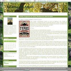 TYPOS, Fragments de vérité, Pierdomenico BACCALARIO - Le blog de Argali