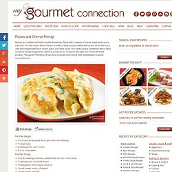 MyGourmetConnection Recipes