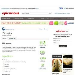 Pierogies Recipe at Epicurious