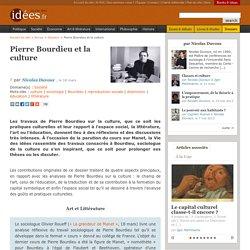 Pierre Bourdieu et la culture