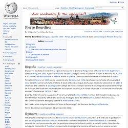 Pierre Bourdieu - Wikipedia - Cyberfox