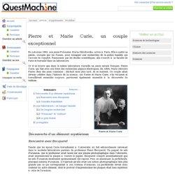 Pierre et Marie Curie, un couple exceptionnel