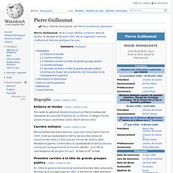 Pierre Guillaumat