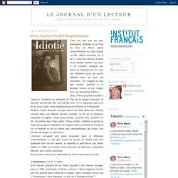 Pierre Guyotat, Prix de la langue française