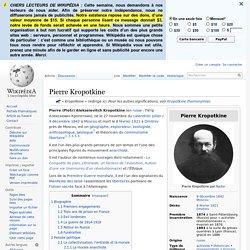 Pierre Kropotkine