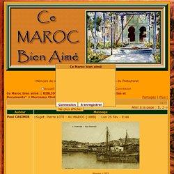 Pierre LOTI : AU MAROC (1889)