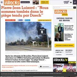 """Pierre-Jean Luizard : """"Nous sommes tombés dans le piège tendu par Daech"""""""