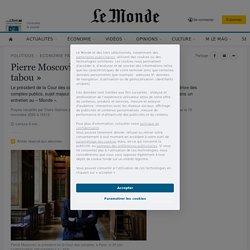 Pierre Moscovici: «La dette n'est pas un tabou»