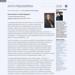 Pierre-Jean Brunel : de Protée à Polyphème.