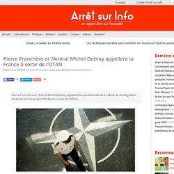 Pierre Pranchère et l'Amiral Michel Debray appellent la France à sortir de l'OTAN