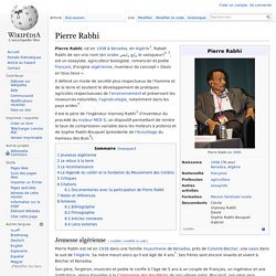 Pierre Rabhi (Wikipedia)