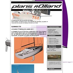 Pierre Rolland - Architecte naval : : DJANGO 770