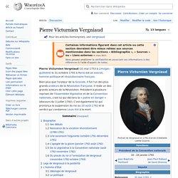 Pierre Victurnien Vergniaud