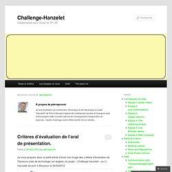 Challenge-Hanzelet