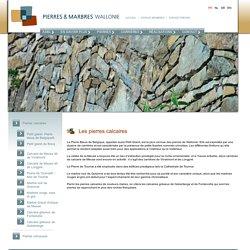 Classification des pierres calcaires et non-calcaires (bas de page)