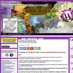 magie des pierres, minéraux et cristaux