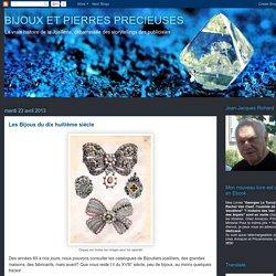 BIJOUX ET PIERRES PRECIEUSES: Les Bijoux du dix huitième siècle