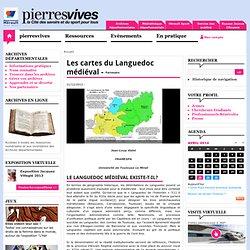 Cartes du Languedoc médiéval