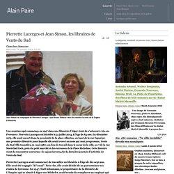 Pierrette Lazerges et Jean Simon, les libraires de Vents du Sud