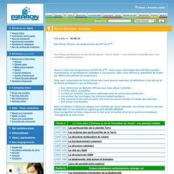 Pierron - Des fiches TP pour les programmes de SVT de 2nde