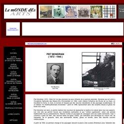 Piet Mondrian ( 1872 - 1944 )