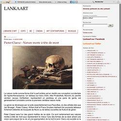 Pieter Claesz - Nature morte à tête de mort
