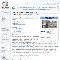 Pieter van Der Heyden (graveur)