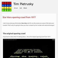 Tim Pietrusky/star-wars-opening-crawl-from-1977