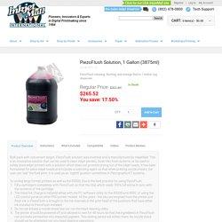PiezoFlush cleaning, flushing, and storage fluid in 1 Gallon Jug dispenser.