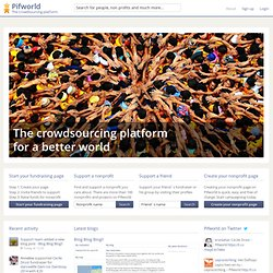 online charity platform.