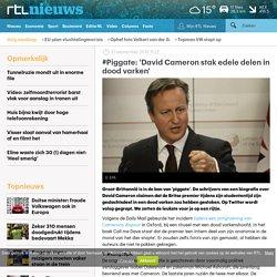 #Piggate: 'David Cameron stak edele delen in dood varken' - RTL Nieuws