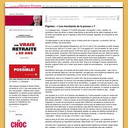 Le blog de Gérard Filoche » Pigistes : « Les mendiants de la pre
