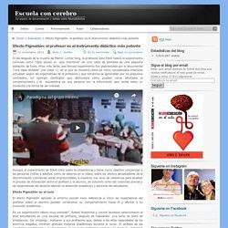 Efecto Pigmalión: el profesor es el instrumento didáctico más potente
