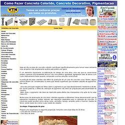 o Fazer Concreto Colorido, Concreto Decorativo, Pigmentacao Colorida, Artefatos de Concreto, Lajes, Postes de Concreto, Bancos de Concreto, Mesas de concreto, Mourao de Concreto, Pre moldados, Pre Fabricados, Concregrama, Pisograma, Guias de concreto, Tel