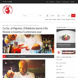 Pigneto, un cocktail bar con Carbonara Sour