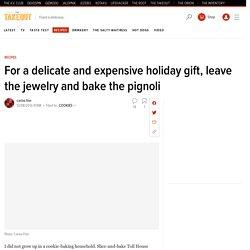 Recipe: Pignoli cookies, pillow-soft Italian holiday treats