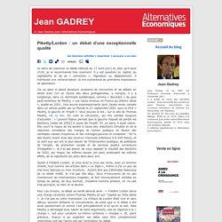 Piketty/Lordon : un débat d'une exceptionnelle qualité