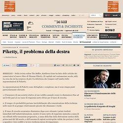 Piketty, il problema della destra