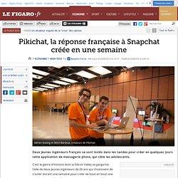 Pikichat, la réponse française à Snapchat créée en une semaine
