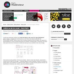 Créer sa bd en ligne : Pikistrips