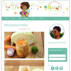 Pikliz (condiment haïtien)