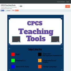 CPCS Teaching Tools