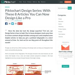 Design Series: With These 8 Articles You Can Now Design Like a Pro