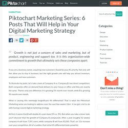 Piktochart Marketing Series- Posts to Boost Digital Marketing Strategy
