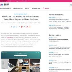 PikWizard : un moteur de recherche avec des milliers de photos libres de droits