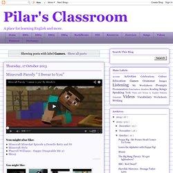 Pilar's Classroom: Games