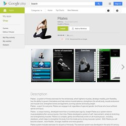 Pilates – Applications Android sur Google Play