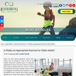 Is Pilates an Appropriate Exercise for Older Adults?