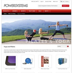 Yoga & Pilates Equipment, Props and Accessories