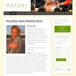 Pilates San Francisco, Pilates Mat - Satori Yoga Studio